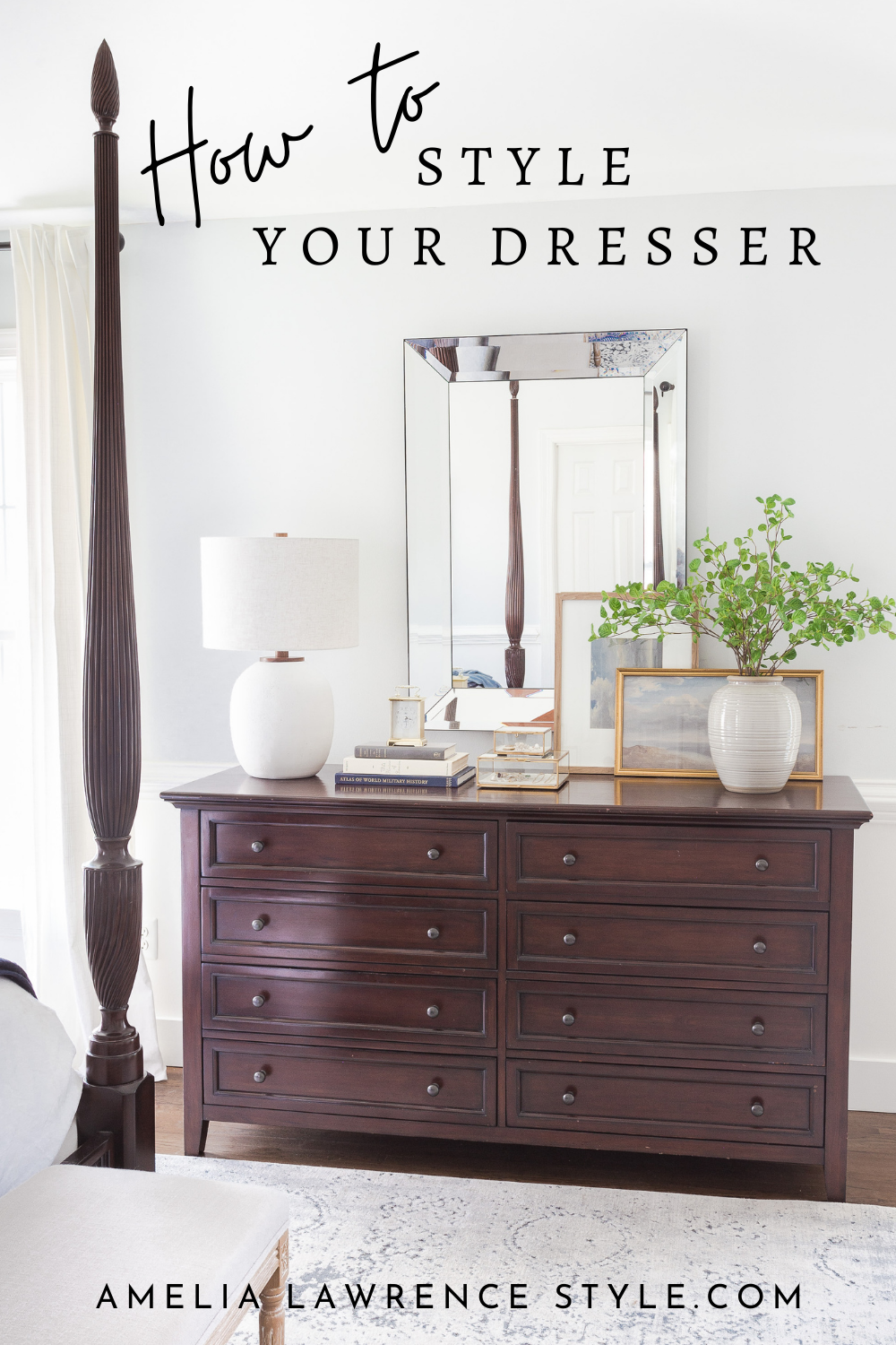 how to style your dresser